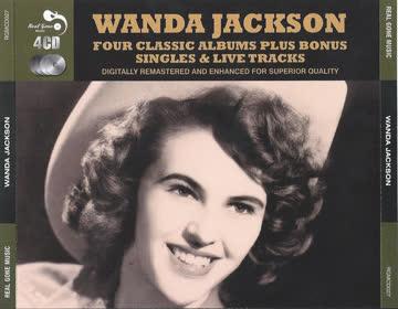 Wanda Jackson - Four Classic Albums Plus Bonus Singles & Live Tracks