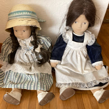 Selbstgemachte  Puppen