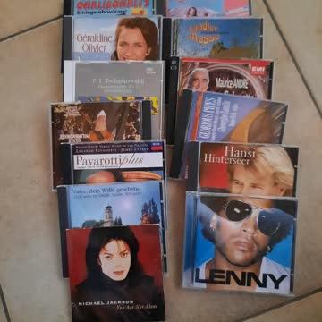 13 stk div cd