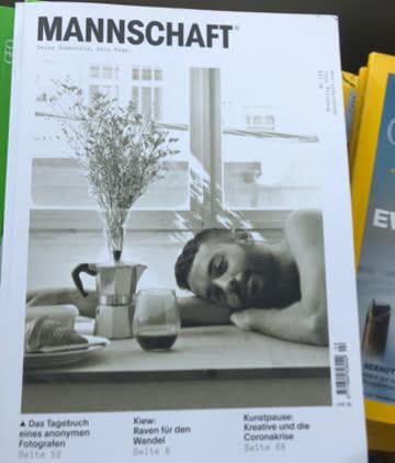 MANNSCHAFT Frühling 2021 Gay Magazin