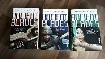 Buchreihe Triologie: Ancient Blades