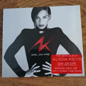 "Alicia Keys ""Girl on fire"" CD neu/verschweisst"