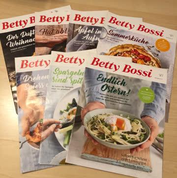 Betty Bossi 2018  /  7 Ausgaben