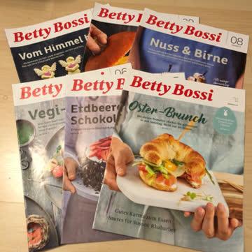 Betty Bossi 2019  /  6 Ausgaben