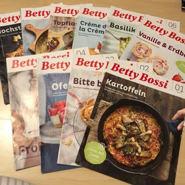 Betty Bossi 2020  /   10 Ausgaben