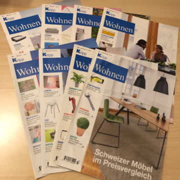 Ktipp Wohnen  2018 -2020  /  8 Ausgaben