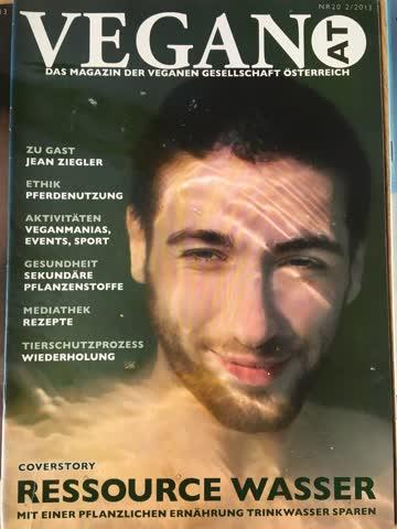 VeganAT Magazin der verganen Gesellschaft Österreich, Nr. 20