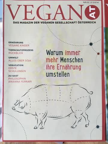 VeganAT Magazin der verganen Gesellschaft Österreich, Nr. 22