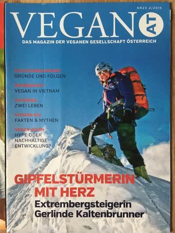 VeganAT Magazin der verganen Gesellschaft Österreich, Nr. 23
