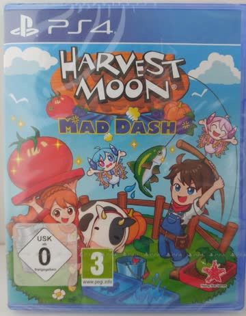 Harvest Moon - Mad Dash (PS4) (NEU/OVP)