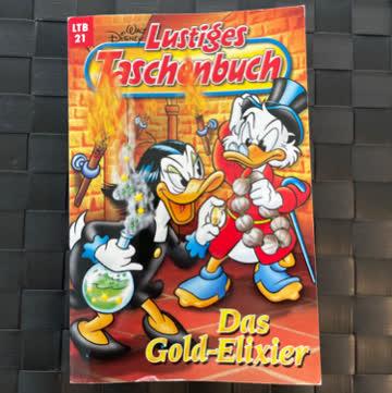 Lustiges Taschenbuch Nr. 21 Das Gold-Elixier