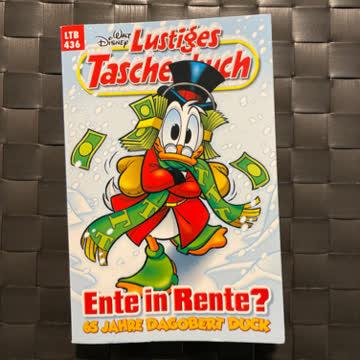Lustiges Taschenbuch Nr. 436 Ente in Rente?