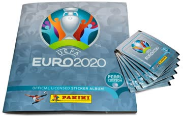 322 - Ukraine Logo - UEFA Euro 2020 Pearl Edition
