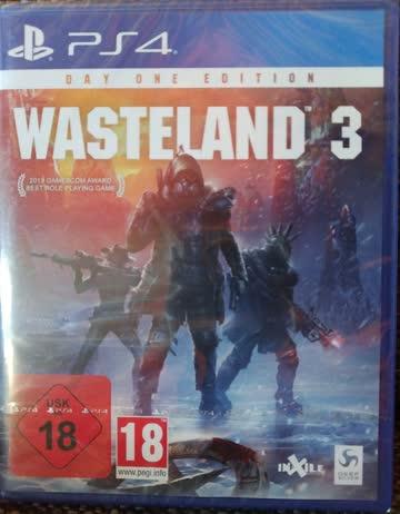 Wasteland 3  (PS4) (NEU/OVP)