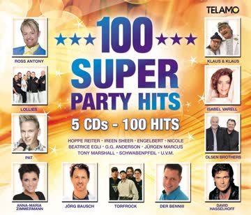 Various Artists - 100 Super Party Hits