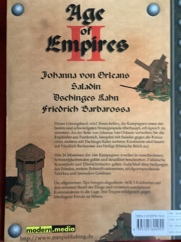 Age of Empire 2 Lösungsbuch