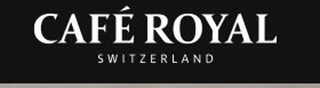 10 Fr. Gutschein ab Mindestbestellwert von 50Fr. Café Royal