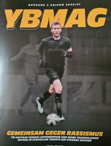 Zeitschrift YBMAG Ausgabe 3 Saison 2020/21