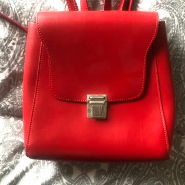 kleiner roter Rucksack von Brandy Melville