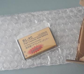 BL-4C BL 4C Li-ion Akku für Nokia 2652 3108 6100 6170 etc
