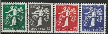 1939 Landesausstellung italienische Inschrift ganzer Satz