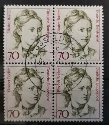 1991 Frauen der deutschen Geschichte Elisabeth Boehm Viererb