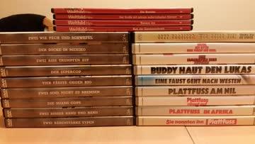 10 Bud Spencer & Terence Hill-DVD's für 500 Exsila-Punkte