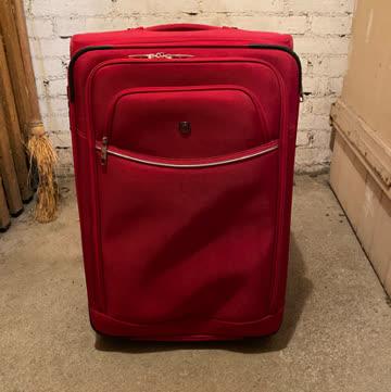 Reise-Koffer rot