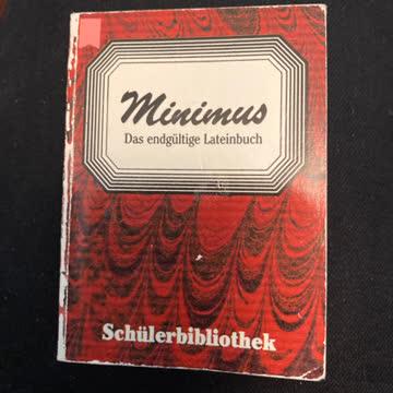 Minimus - das endgültige Lateinbuch
