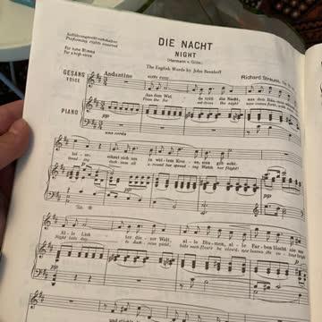 Lieder Album Richard Strauss