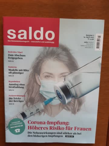 Saldo Nr. 7 / 14. April 2021