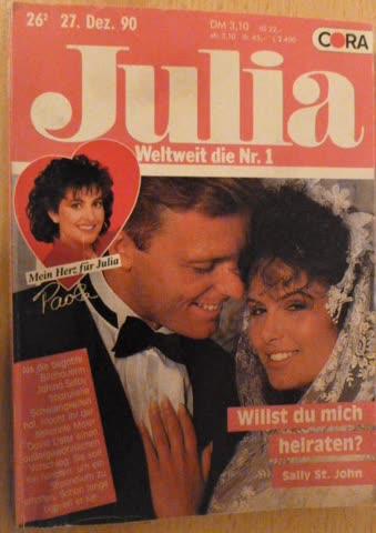 Roman Julia Willst du mich heiraten? von Sally St. John