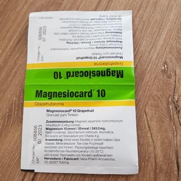 Magnesium granulat