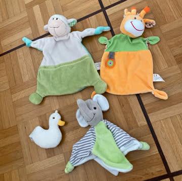 Nuscheli-Tiere für Baby