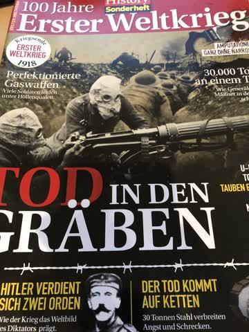 History Sonderheft 100 Jahre 1. Weltkrieg