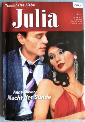 Roman Julia Nacht der Sünde von Anne Oliver
