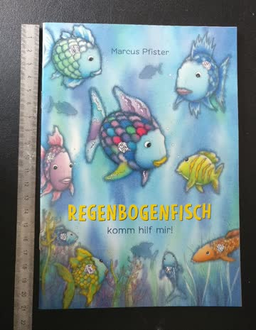 Regenbogenfisch Heft