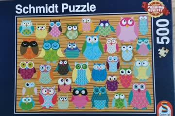 Puzzle Eule