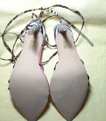 High Heels pink Gr 42