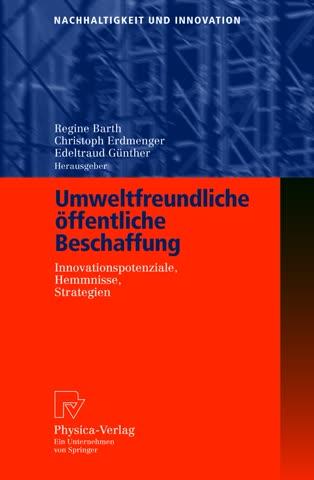 """Buch """"Umweltfreundliche öffentliche Beschaffung"""""""
