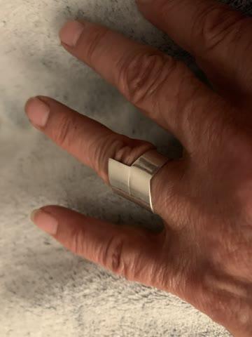Silberring gest. 925