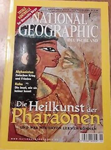 National Geographic November 2003
