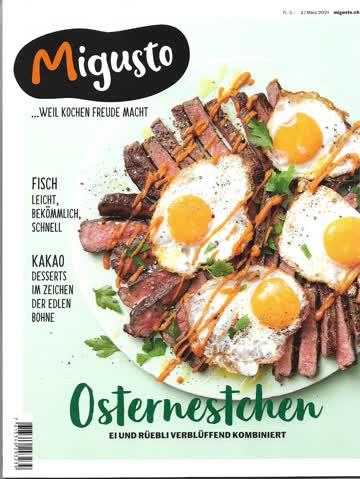 Zeitschrift - Migusto 3/2021