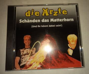 DIE ÄRZTE ** SCHÄNDEN DAS MATTERHORN CD FARIN URLAUB BELA B.