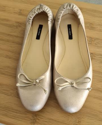 Leder Ballerina Gr.39