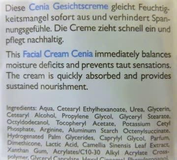 Alcina Cenia Gesichtscreme für trockene Haut 10 Muster
