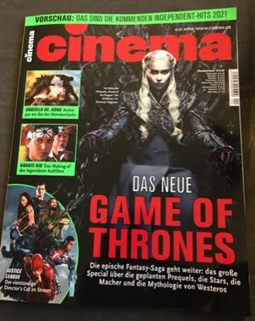Cinema Ausgabe April