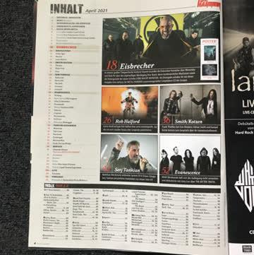Metal Hammer April 2021