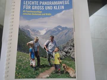 Wanderbuch, leichte Panoramawege