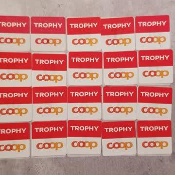 Coop Trophy - volle Sammelkarte